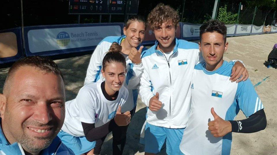 Beach Tennis: San Marino si ferma ai quarti di finale