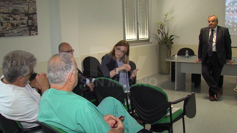 Una delegazione della sanità maltese a San Marino per confronti e nuove prospettive  comuni