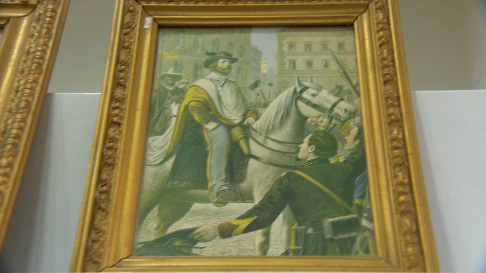 Ecco l'esposizione di cimeli e documenti garibaldini nel 170° anniversario dello scampo di Garibaldi