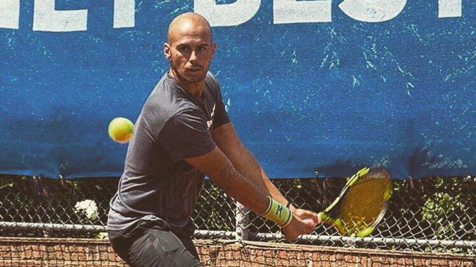 Tennis: Marco De Rossi si ferma al secondo turno in Belgio