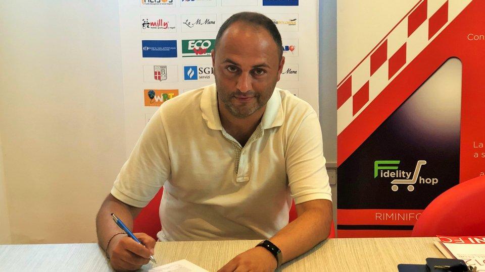 Lorenzo Magi nuovo tecnico del settore giovanile del Rimini