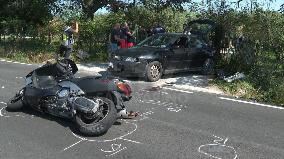 Le immagini dell'incidente mortale