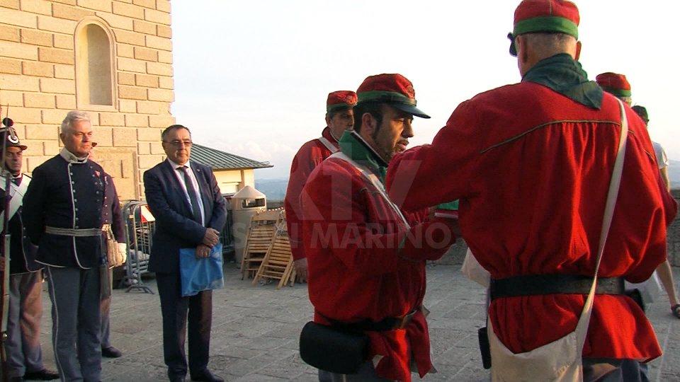 Le camice rosse e il Segretario Augusto Michelotti