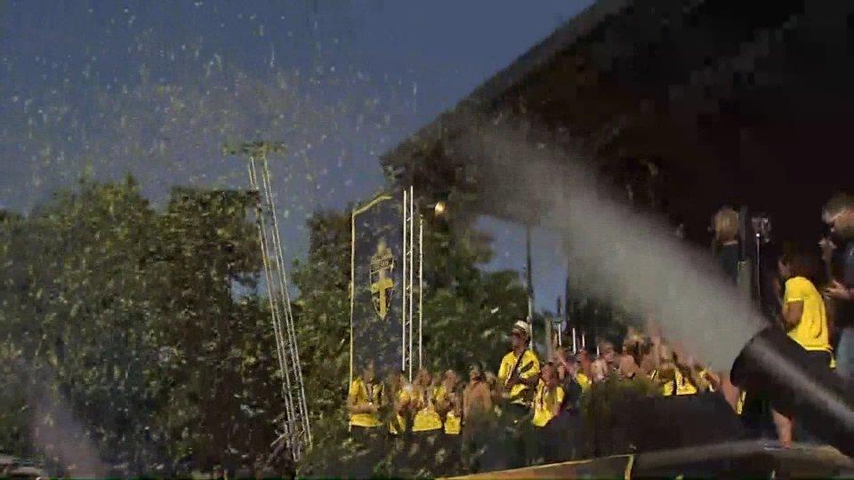 Festeggiamenti in Svezia