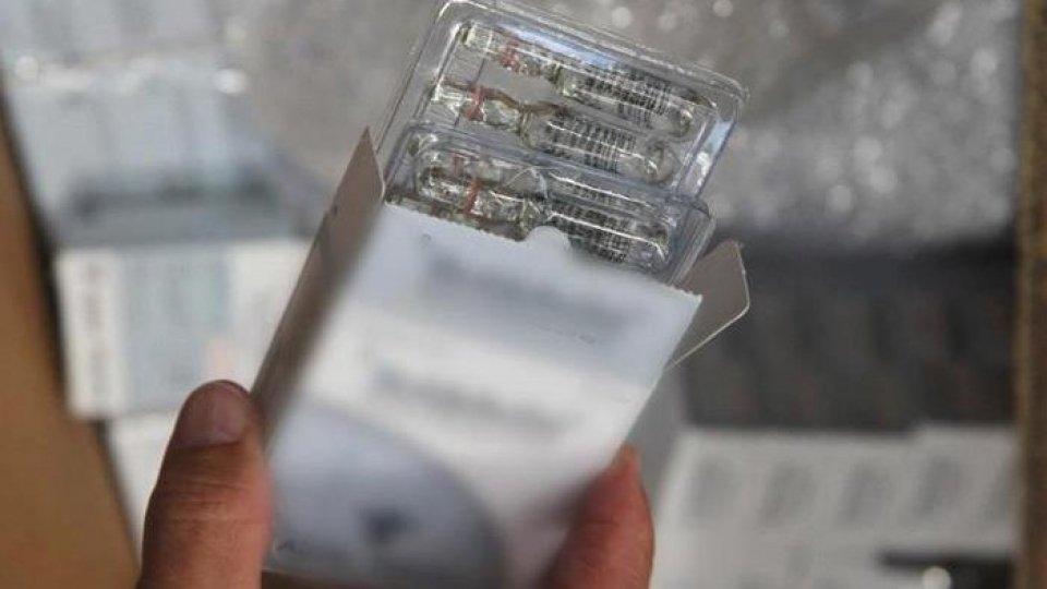 Alcune delle sostanze dopanti sequestrate