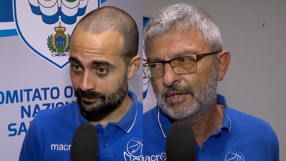 Simone Porcarelli e Massimo Padovano.Simone Porcarelli e Massimo Padovano