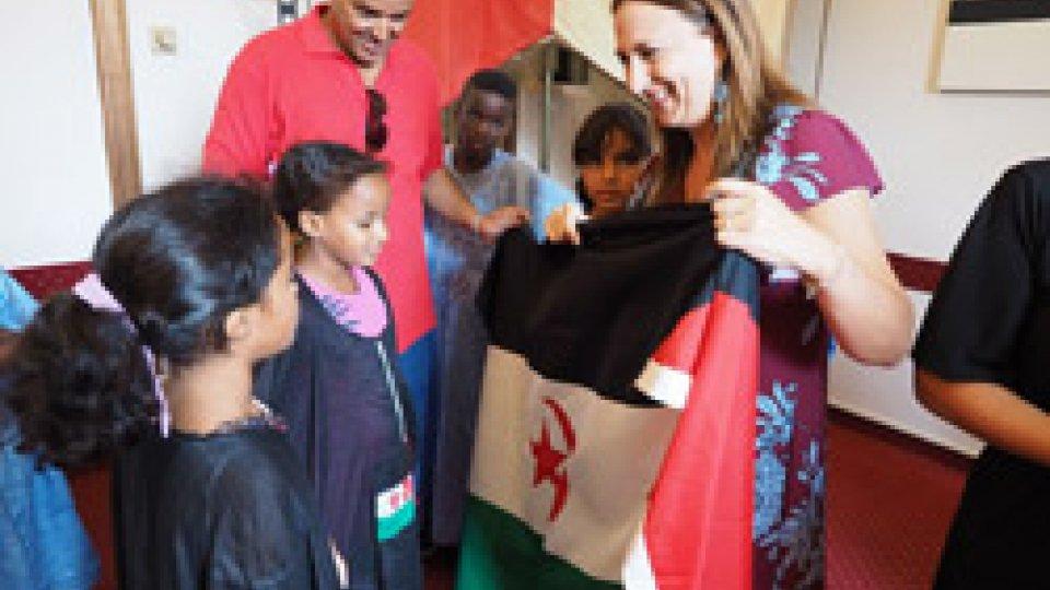 Dieci bimbi del Sahrawi ricevuti oggi in Comune
