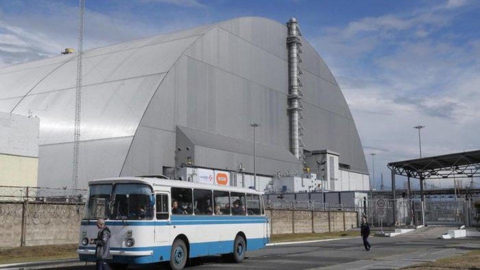 La centrale di Chernobyl. Foto ansa