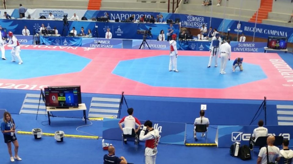 Universiadi: Francesco Maiani superato nei 16' di finale nel taekwondo