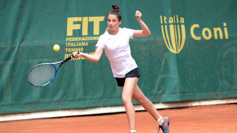 Andrea Maria Artimedi si qualifica per i quarti di finale nel torneo junior tour Itf di Telavi (Georgia)