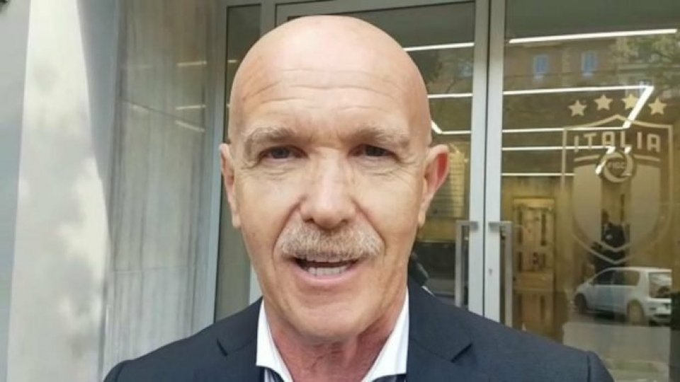 Il presidente del Rimini, Giorgio Grassi