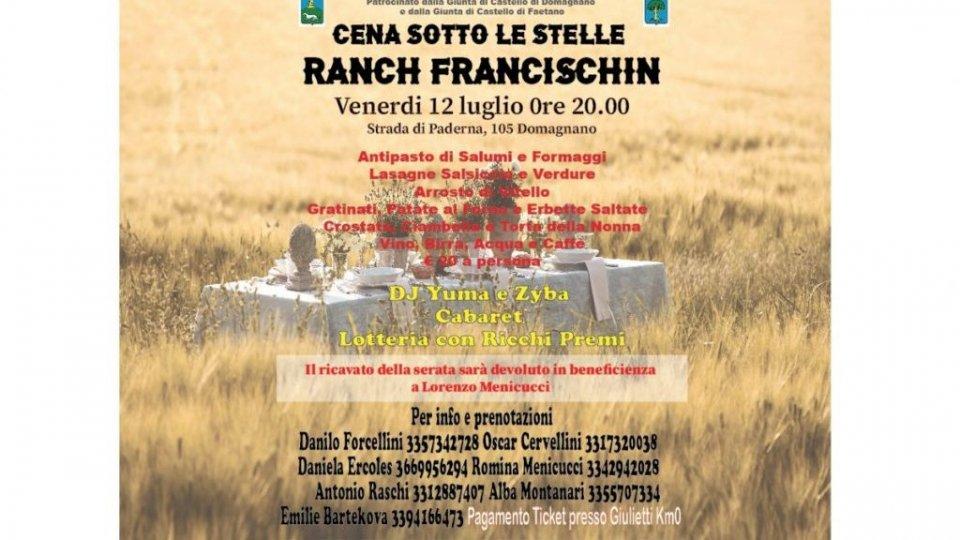 """A Domagnano cena di solidarietà """"sotto le stelle"""" per Lorenzo Menicucci"""