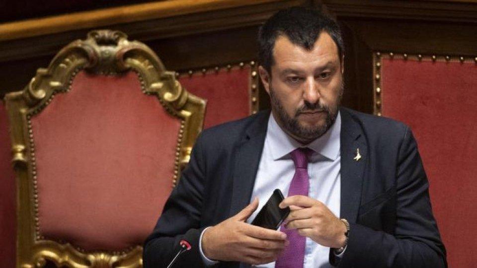 Matteo Salvini, foto ansa
