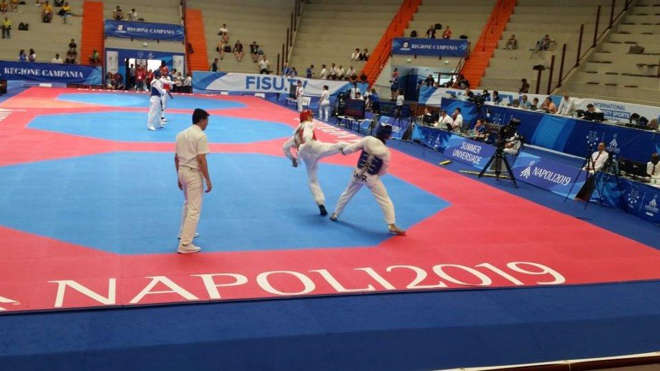 Universiadi: Luca Ghiotti eliminato nel taekwondo da Nassar Ahmed