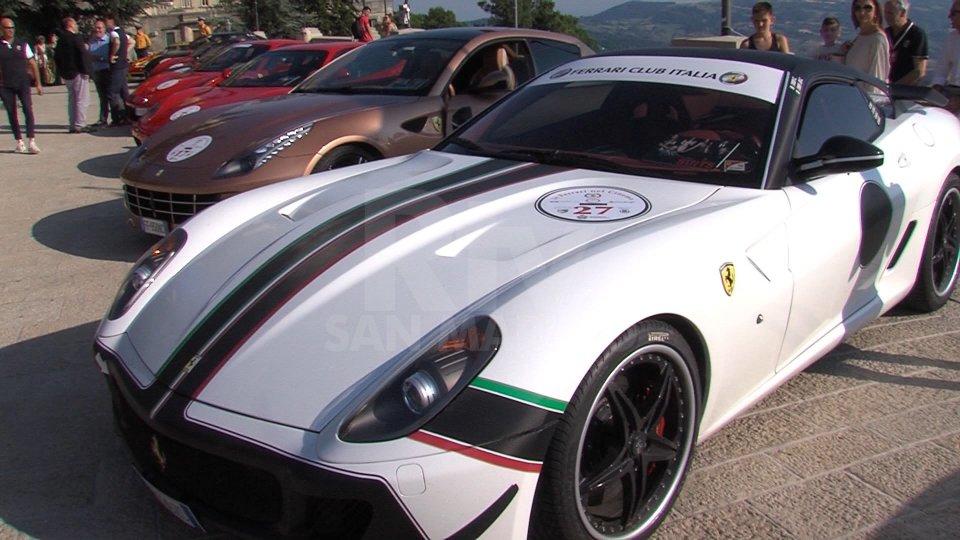 """Le immagini più significative della mostra """"Le Ferrari nel cinema"""""""