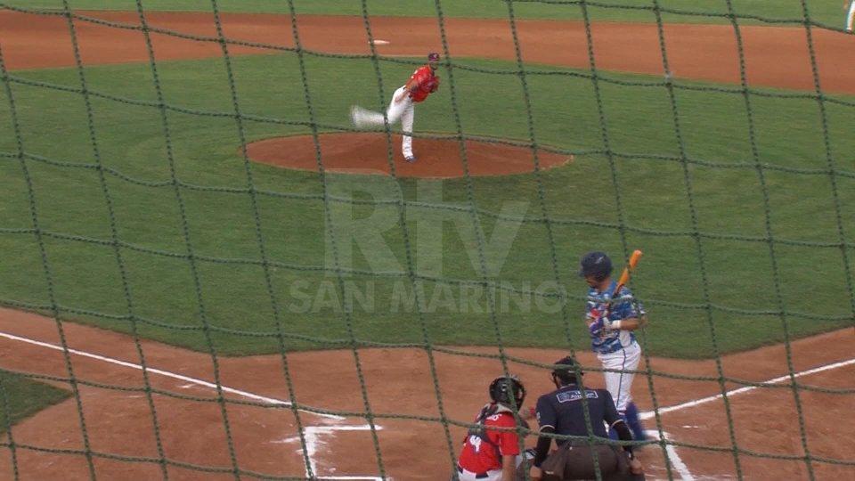 San Marino si illude, Castenaso vince all'extra inning