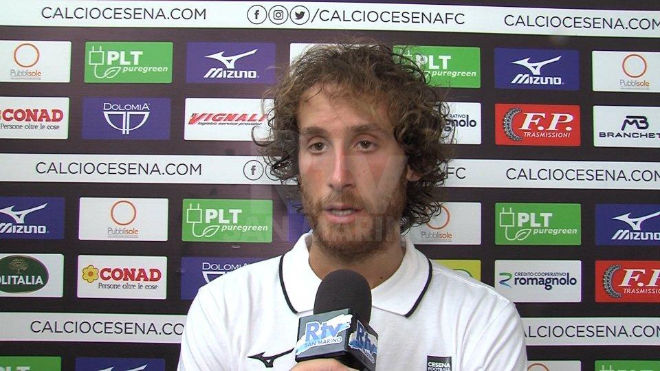 """Nicola CapelliniCesena, Capellini: """"Orgoglioso di essere rimasto, Modesto ha le idee chiare"""""""