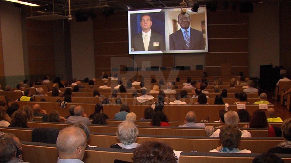 Nel video le immagini dall'incontro e dal battesimo