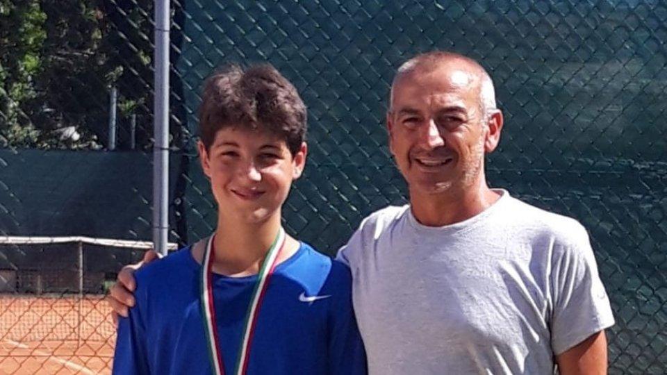 Davide Brunetti vince il torneo nazionale Under 14 del Misano Sporting out, tappa del circuito regionale