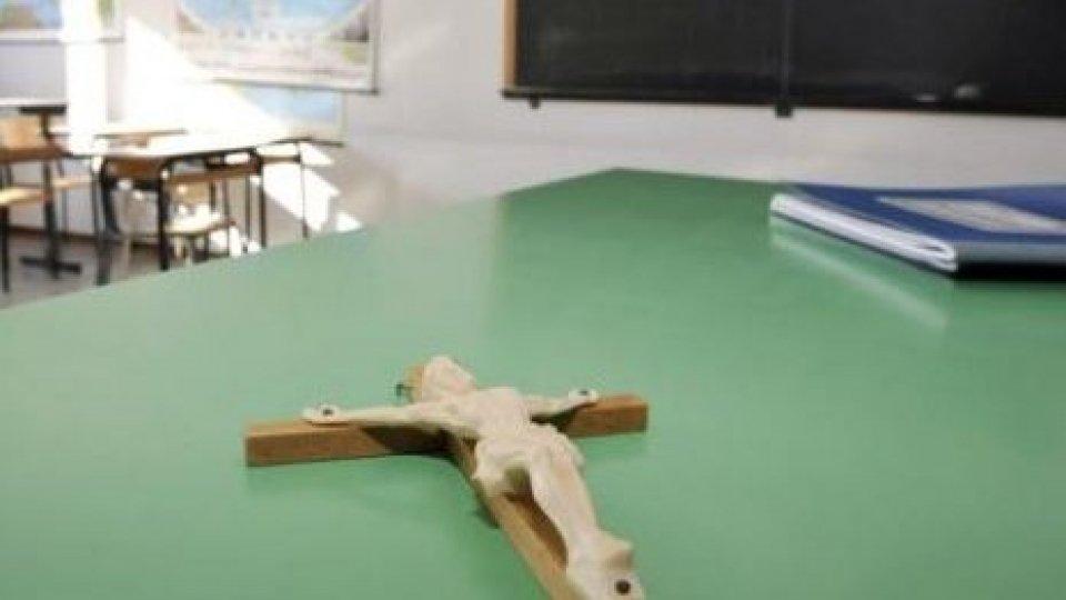 Più di 9 ragazzi su 10 scelgono religione cattolica a scuola