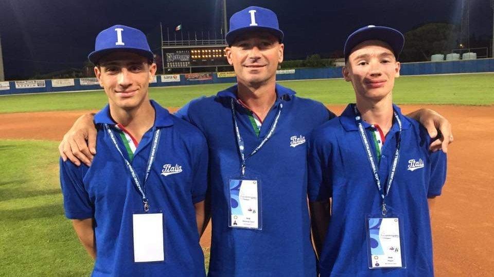 Baseball: Ercolani e Beccari all'Europeo U15
