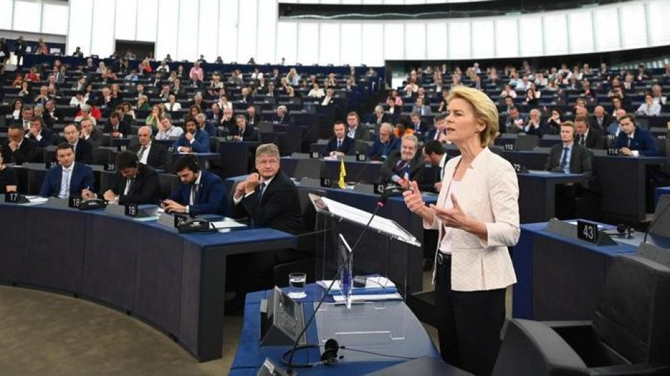 Il discorso di insediamento di Ursula Von der Leyen