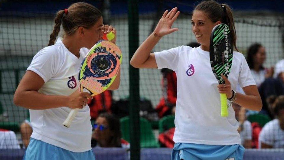 Beach Tennis: Colonna-Grandi ai World Beach Games in Qatar