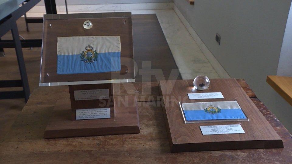 Le rocce lunari donate a San MarinoLe rocce lunari donate a San Marino