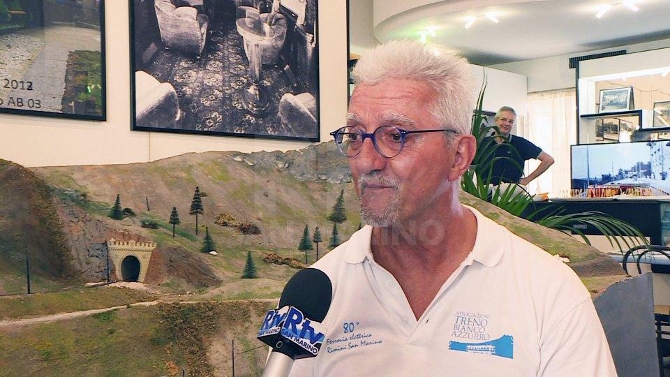 """Nel servizio l'intervista a Giancarlo """"Yuma"""" Terenzi (Associazione Treno Bianco Azzurro)Nel servizio l'intervista a Giancarlo """"Yuma"""" Terenzi (Associazione Treno Bianco Azzurro)"""