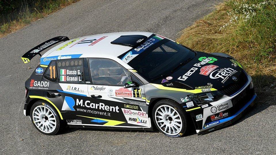 Basso vince il Rally di Roma Capitale