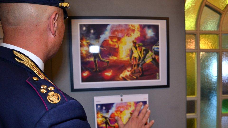 Il calendario della Polizia di Stato protagonista di Rimini Comix
