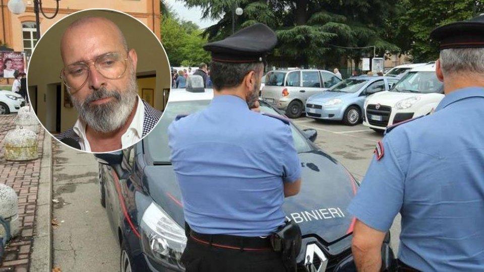 Foto: Gazzetta di Reggio. Nel tondino, il Presidente della Regione E-R, Stefano Bonaccini