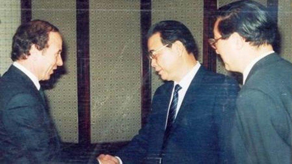 Gian Franco Terenzi e Li Peng