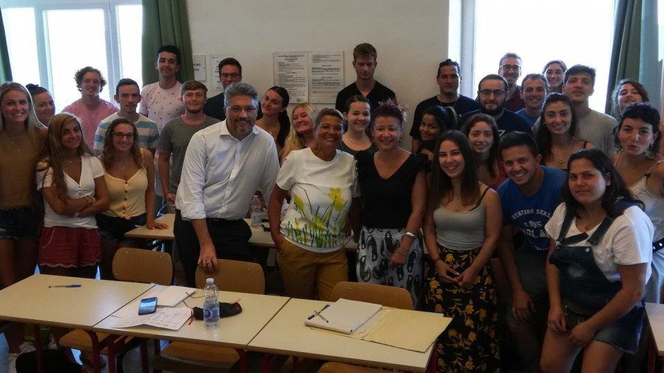 Agenzia per lo Sviluppo Economico: incontro con gli studenti dei Soggiorni Culturali