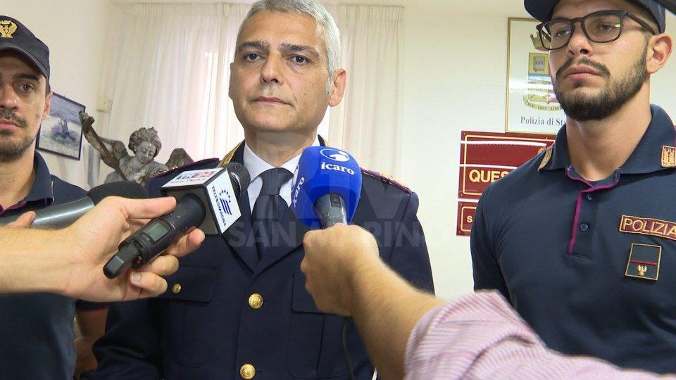 Nel servizio l'intervista a Massimo Sacco (Capo squadra mobile questura Rimini)Nel servizio l'intervista a Massimo Sacco (Capo squadra mobile questura Rimini)