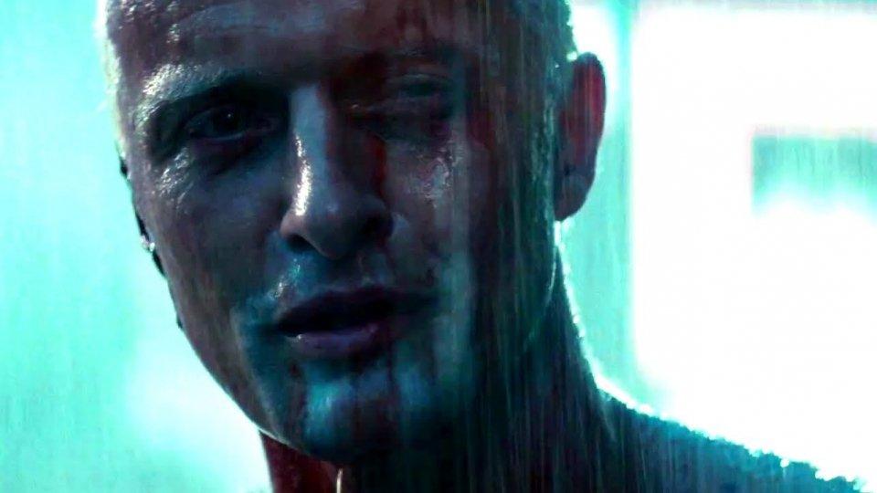 """Rutger Hauer nel celebre monologo in """"Blade Runner"""""""