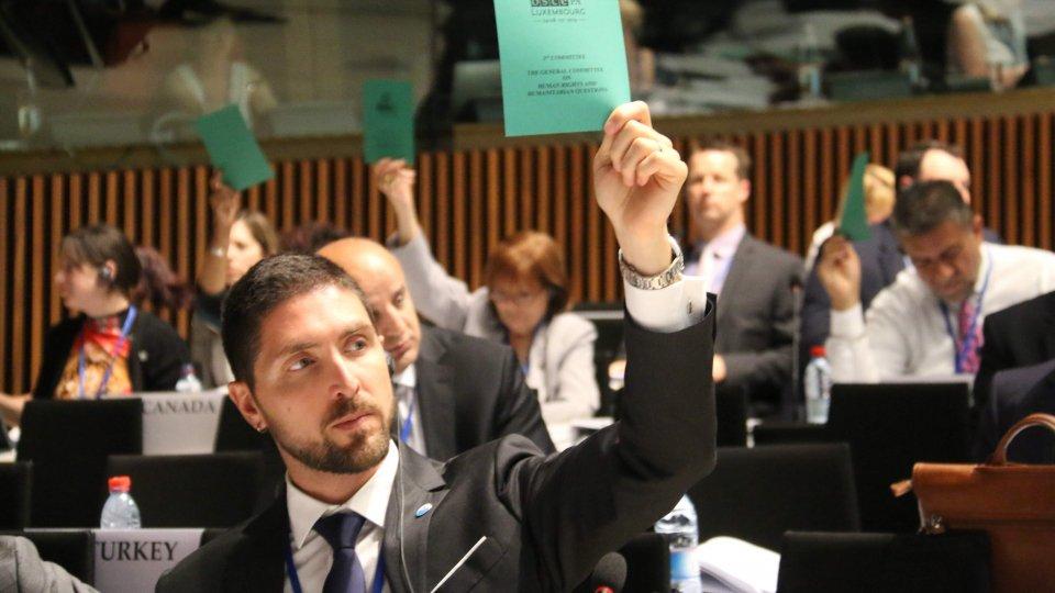 Santolini nominato relatore speciale OSCE PA