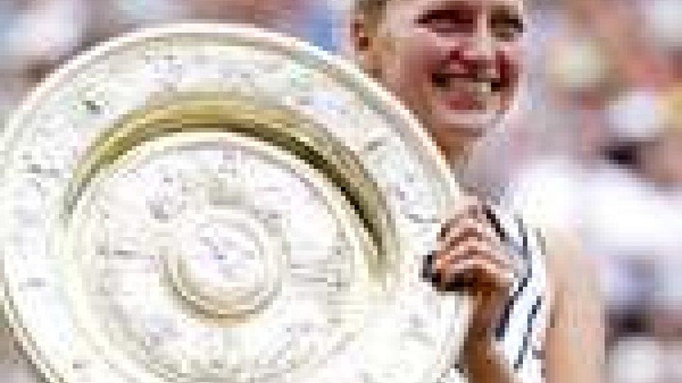 Tennis. Alla ceca Petra Kvitova il torneo di Wimbledon