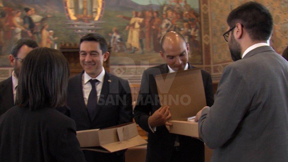 Reggenza: ricevuto in udienza, dai Capi di Stato, il Presidente Nazionale dell'Azione Cattolica Italiana