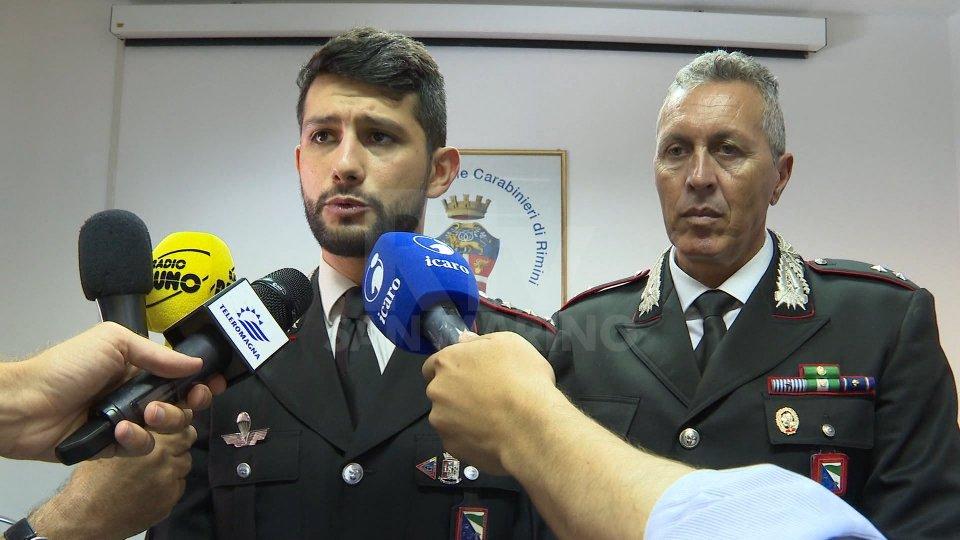 Nel video l'intervista a Marco Califano, comandante carabinieri di RiccioneNel video l'intervista a Marco Califano, comandante carabinieri di Riccione