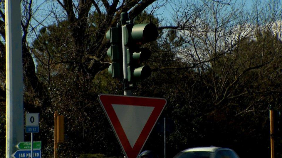 Occhio al rosso: nuovo rilevatore sulla consolare per San Marino