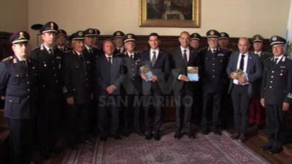 L'organizzazione militare della Repubblica di San Marino: presentata ai Capitani Reggenti la pubblicazione