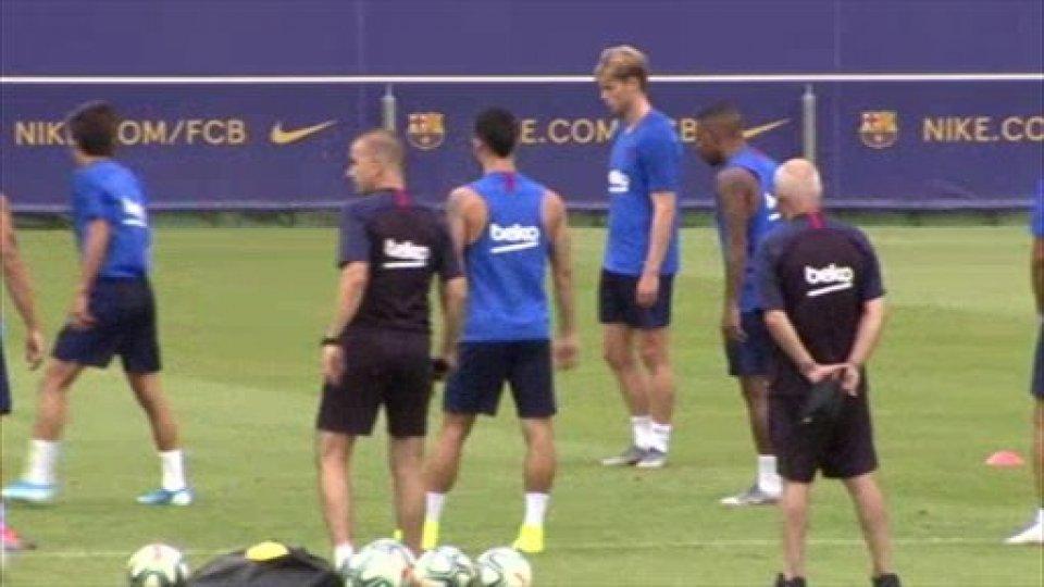 Barcellona: Griezmann-De Jong si, Malcom no, Neymar forse