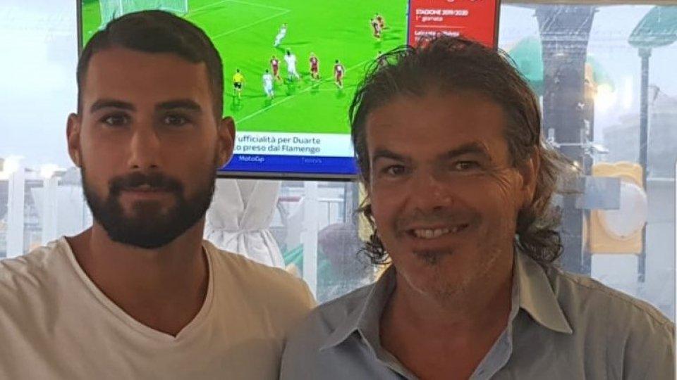 Riccardo Gaiola al Cattolica Calcio SM