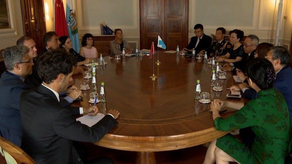 Agenzia per lo Sviluppo Economico: incontro con l'ambasciatore cinese