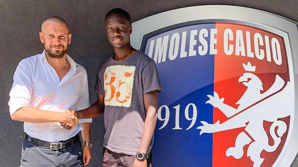 Imolese Calcio: addestramento tecnico con il calciatore Abdoulaye Sall