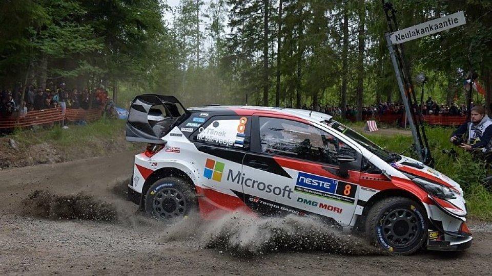 Mondiale Rally, in Finlandia è duello Tanak-Latvala