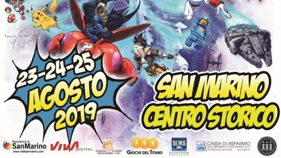San Marino Comics - Festival del Fumetto e della Cultura pop - San Marino, 23, 24 e 25 agosto 2019