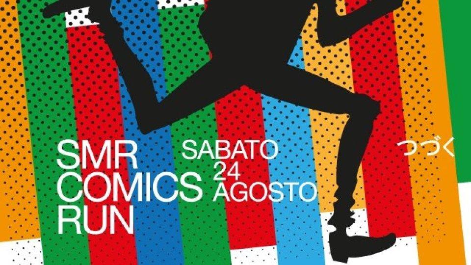 San Marino Comics RUN 2019: sabato 24 agosto sport e divertimento nel centro storico di San Marino