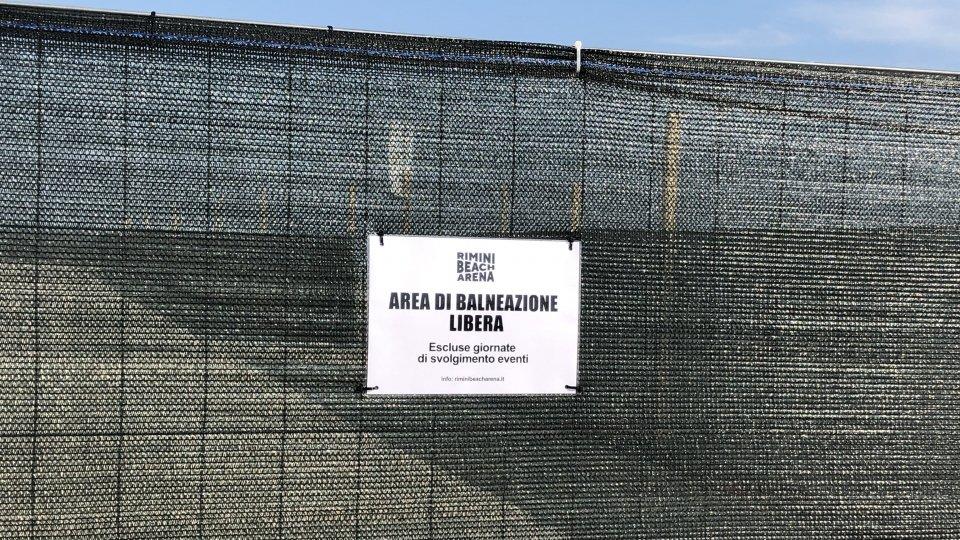 """Esposto in Procura di """"Italia Nostra"""" contro il Comune di Rimini: """"Spiaggia libera da salvaguardare"""""""